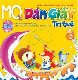 Dán giấy trí tuệ mq - tập 2 (in 4 màu)