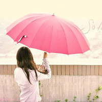 Vào buổi sáng trời mưa