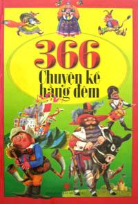 366 chuyện kể hằng đêm (bìa cứng - in màu)