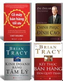 Bán hàng - 4 cuốn: cỗ máy bán hàng tối ưu, kết thúc bán hàng,...