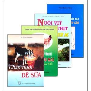 Chăn nuôi gia súc - trọn bộ 4 cuốn