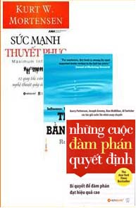 Đàm phán thuyết phục - 3 cuốn: thuyết phục bằng tâm lý, những cuộc đàm phán quyết định