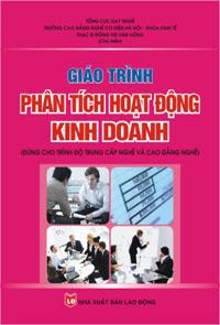 Giáo trình phân tích hoạt động kinh doanh (dùng cho trình độ trung cấp nghề và cao đẳng nghề)
