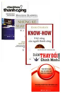 Phát triển cá nhân - 4 cuốn: 8 kỹ năng của người thành công, dám thay đổi chính mình