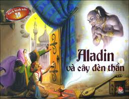 Sách hình nổi 3d - aladin và cây đèn thần