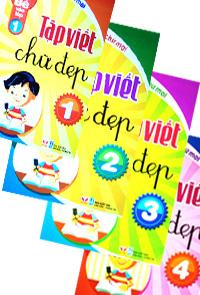 Tập viết chữ đẹp - tập tô theo mẫu chữ thường (chuẩn bị cho bé vào lớp 1 - bộ 4 cuốn)