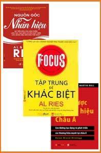 Thương hiệu - 3 cuốn: tập trung để khác biệt, chiến lược thương hiệu châu á