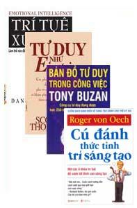 Tư duy - 4 cuốn: bản đồ tư duy trong công việc, tư duy enstein...