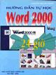 Hướng dẫn tự học word 2000 trong 24 giờ